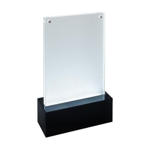 Sigel luminous LED-Tischaufsteller