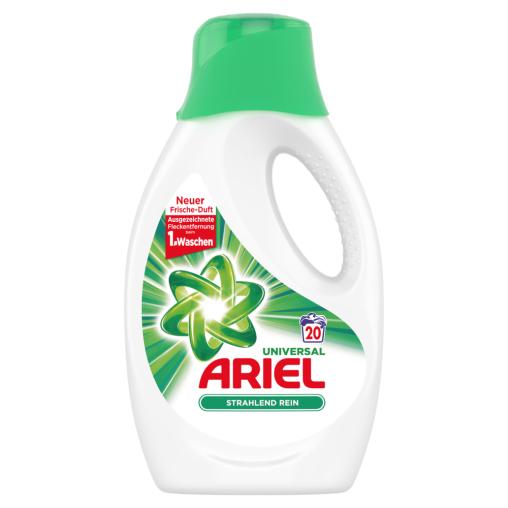 Ariel Universal Strahlend Rein Flüssigwaschmittel