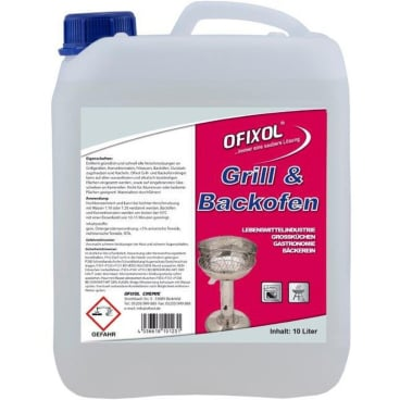 Ofixol Grill- und Backofenreiniger 10 l - Kanister