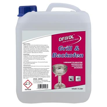 Ofixol Grill- und Backofenreiniger 5 l - Kanister