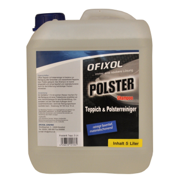 Ofixol POLSTER & TEPPICH SHAMPOO 5 l - Kanister