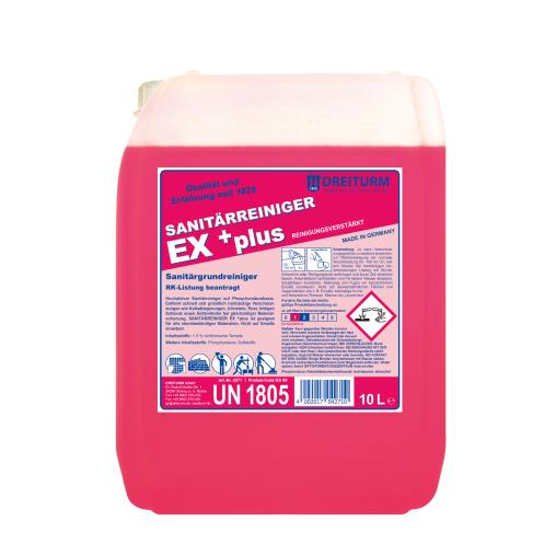 Dreiturm EX+ plus Sanitärreiniger