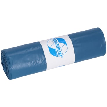 Deiss Premium Abfallsack Blau 1 Rolle 25 Säcke Online Kaufen