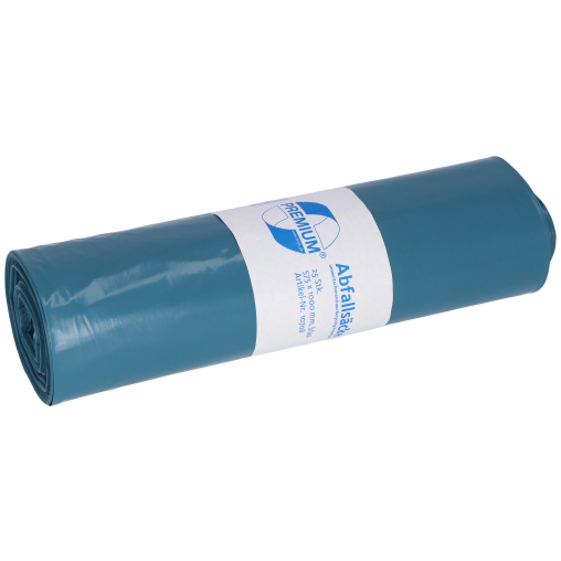 DEISS PREMIUM Abfallsack 70 Liter, blau, Typ 60