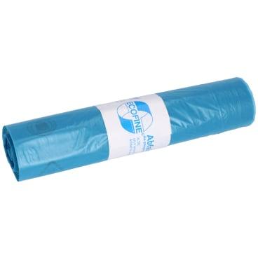 DEISS ECOFINE Abfallsack 70 Liter, blau, Typ 60