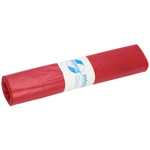 DEISS ECOFINE Abfallsack 120 Liter, rot, Typ 60