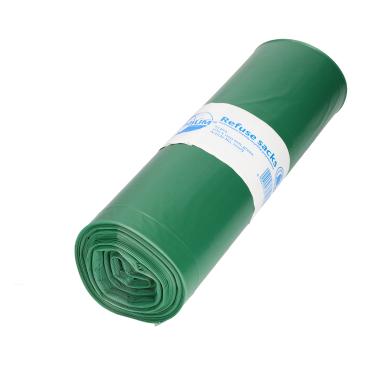DEISS PREMIUM Abfallsack 120 Liter, grün, Typ 100