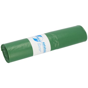 DEISS PREMIUM Abfallsack 120 Liter, grün, Typ 60