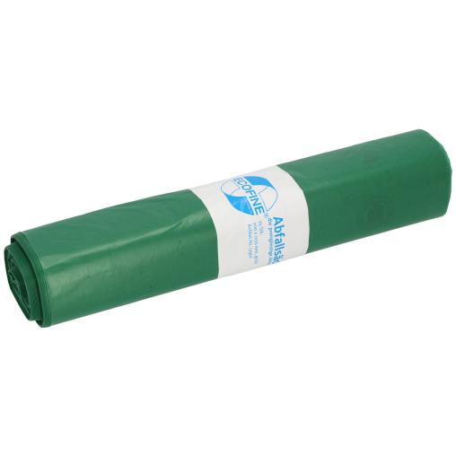 DEISS ECOFINE Abfallsack 120 Liter, grün, Typ 60