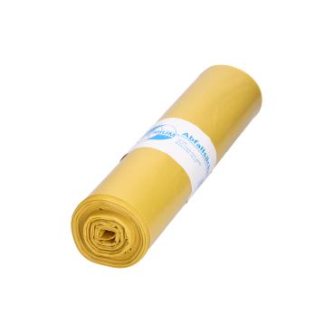 DEISS PREMIUM Abfallsack 120 Liter, gelb, Typ 60
