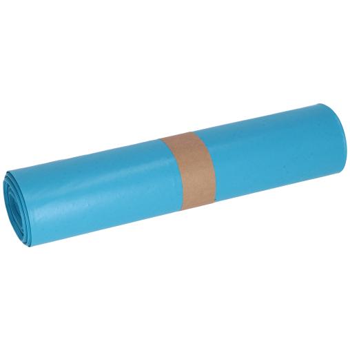 DEISS LDPE Abfallsäcke, blau, 120 Liter