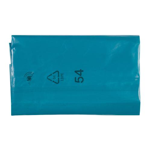 DEISS LDPE - Abfallsäcke, lose 240 Liter, blau, 50µ