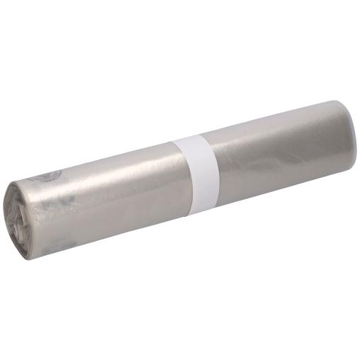 DEISS LDPE Abfallsäcke, trans-trüb, 120 Liter