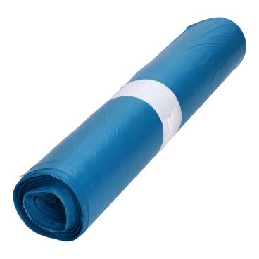 DEISS HDPE Abfallsäcke, blau, 120 Liter
