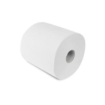 Rollenhandtuchpapier, 2-lagig, hochweiß ½ Palette = 22 Pakete à 6 Rollen = 132 Rollen