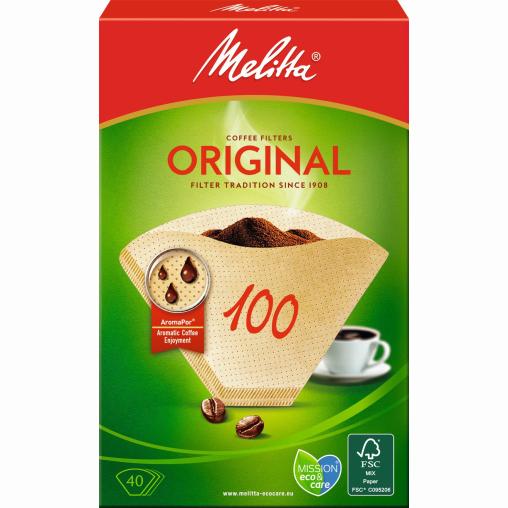 Melitta® Filtertüten 100/40