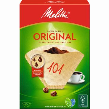 Melitta® Filtertüten 101/40 1 Packung = 40 Stück