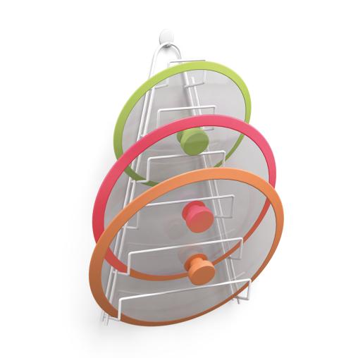 Metaltex Kiwi Topfdeckelhalter, plastifiziert