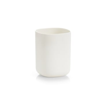 Zeller Zahnputzbecher, Kunststoff, 300 ml Maße: 7,3 x 7,3 x 9,5 cm, weiß