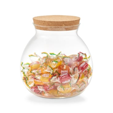 Zeller Vorratsglas mit Korkdeckel Maße: Ø 15,1 x 15,7 cm, 1700 ml