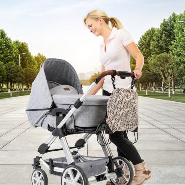 reer Clip&Go Bag Kinderwagen-Einkaufsbeutel 1 Stück