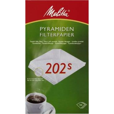 Melitta® Pyramiden-Filterpapier 202 S 1 Packung = 100 Stück