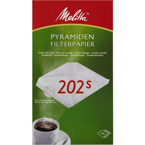 Melitta® Pyramiden-Filterpapier 202 S