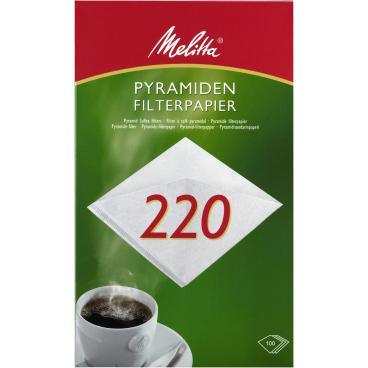 Melitta® Filtertüten 220 1 Packung = 100 Stück