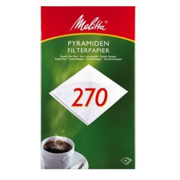 Melitta® Filtertüten 270 1 Packung = 100 Filtertüten
