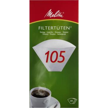 Melitta® Filtertüten 105 1 Packung = 200 Stück