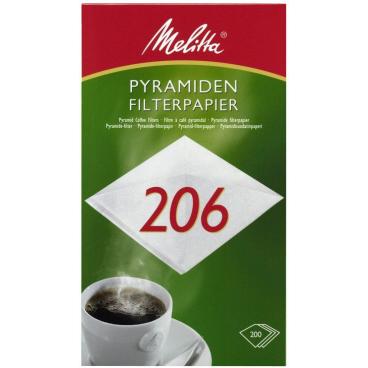 Melitta® Filtertüten 206 1 Packung = 200 Stück