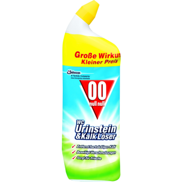 00 WC Urinstein- & Kalklöser 750 ml - Flasche