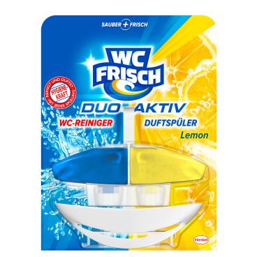 WC Frisch Duo Aktiv WC-Erfrischer Lemon