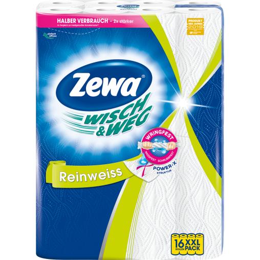 Zewa Wisch & Weg Küchenrolle Reinweiss