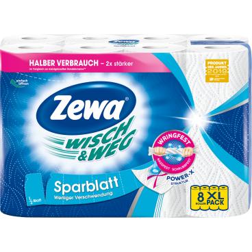 Zewa Wisch & Weg Küchenrolle Sparblatt