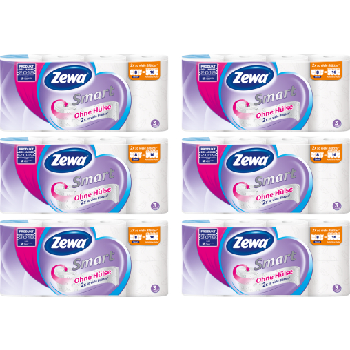 Zewa Smart Toilettenpapier Großpackung