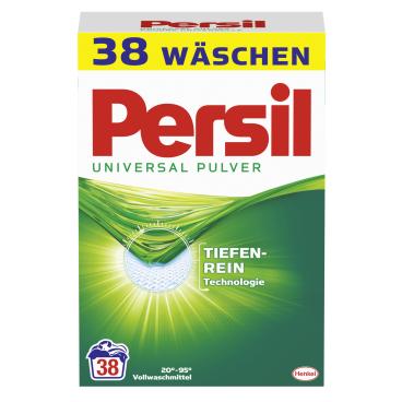 Persil Universal Pulver Vollwaschmittel 2,47 kg - Packung für ca. 38 Waschladungen