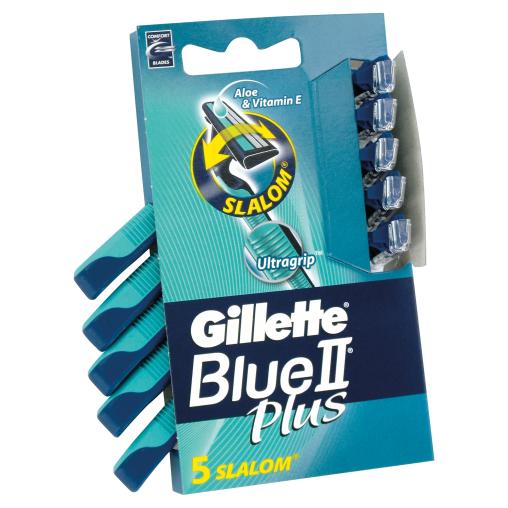 Gillette Blue II Plus Slalom Einwegrasierer
