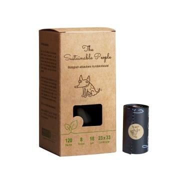 TSP Bio Hundekotbeutel Comfort, schwarz, 23 x 33 cm 1 Karton = 24 Boxen à 120 Stück = 2880 Beutel