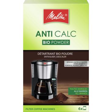 Melitta® ANTI CALC Bio Pulver für Filterkaffeemaschinen