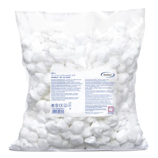 MaiMed® Mulltupfer, unsteril, runde Form