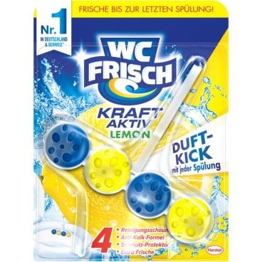 WC Frisch Kraft-Aktiv Duftspüler Lemon, 1 Packung = 10 Stück