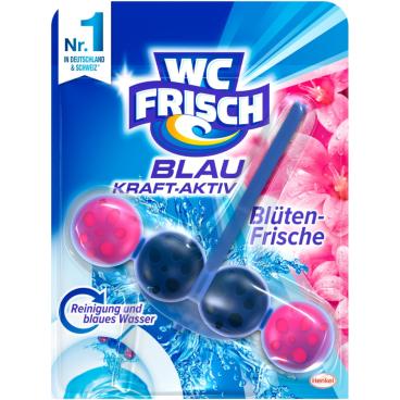 WC Frisch Kraft-Aktiv WC-Duftspüler Blüten-Frische, 1 Packung = 10 Stück