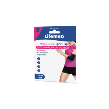 Lifemed® Stabilisierendes Sport-Tape, 3 m x 3,8 cm