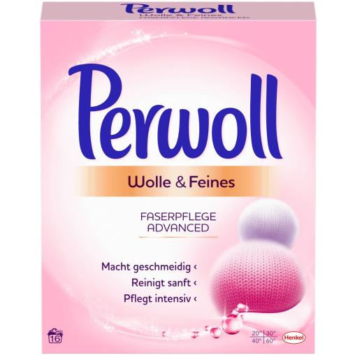 Perwoll Wolle & Feines Faserpflege Advanced Waschpulver