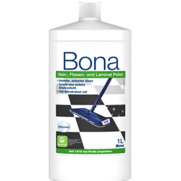 Bona Stein-, Fliesen- und Laminat-Polish Glanzpflegemittel