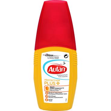 Autan® Protection Plus Insektenschutzspray 100 ml - Flasche