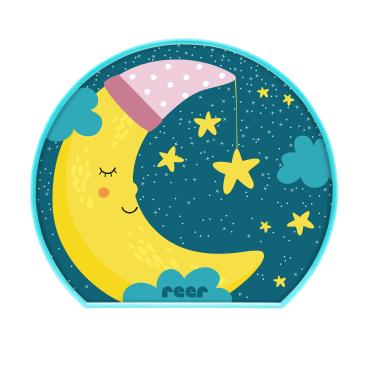 reer MyBabyLight Nachtlicht Kindliches Motiv: Mond