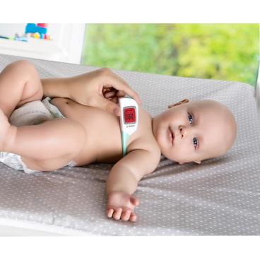 reer ColourTemp Fieberthermometer, weiß/ grün 1 Fieberthermometer