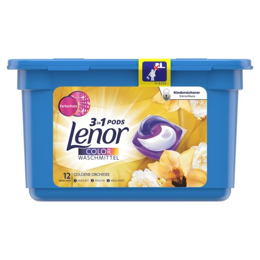 Lenor 3in1 PODS Color-Tabs Goldene Orchidee